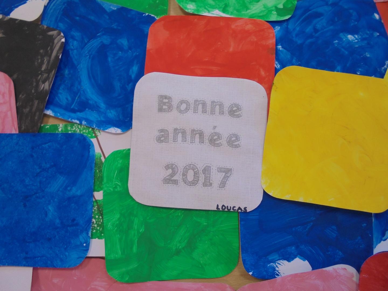 Les tout-petits et petits vous souhaitent une bonne année 2017 (Copier)